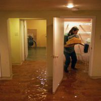 flood in the apartment