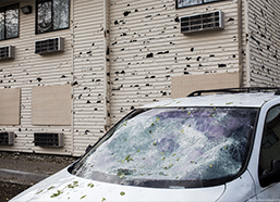 Hail Damage Insurance Adjuster